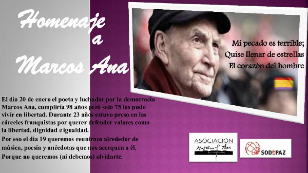 Homenaje a Marcos Ana