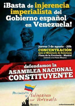Venezuela no es colonia